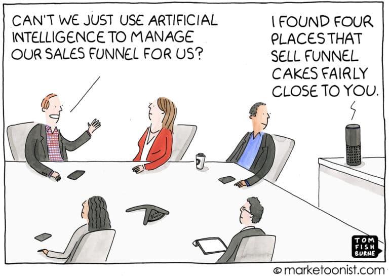 Marketing Sales Artificial Intelligence